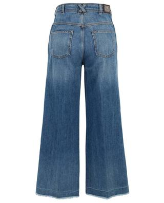 Paisley embroidered wide-leg high-rise jeans ETRO