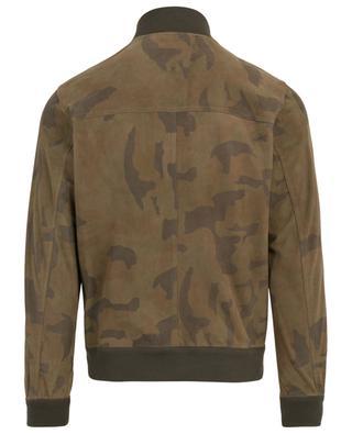 Wildlederjacke mit Camouflageprint VALSTAR MILANO 1911