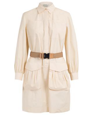 Robe chemise esprit safari avec ceinture FENDI