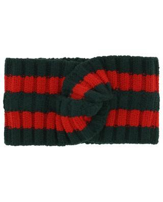 Wool headband GUCCI