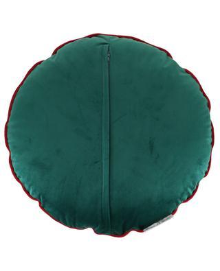 Cocatoo embellished round cushion KERSTEN