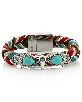 Hacienda Multi braided bracelet with strass HIPANEMA