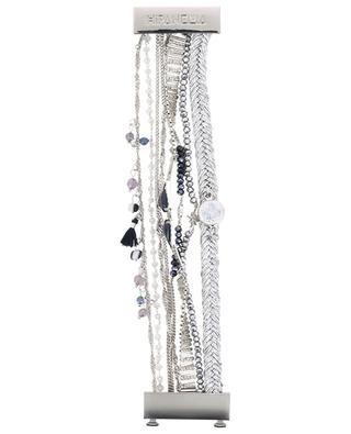 Splendor Blue silver multi brand bracelet HIPANEMA