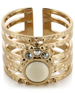 Winona Gold adjustable stack effect ring HIPANEMA