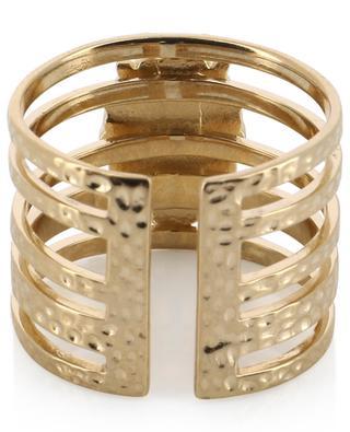 Bague ajustable effet superposé Winona Gold HIPANEMA