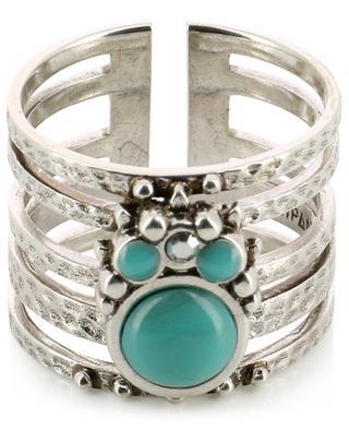 Winona Silver adjustable stack effect ring HIPANEMA
