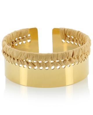 Aklim gold-plated cuff CAMILLE ENRICO