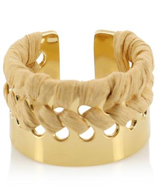 Abda gold-plated ring CAMILLE ENRICO