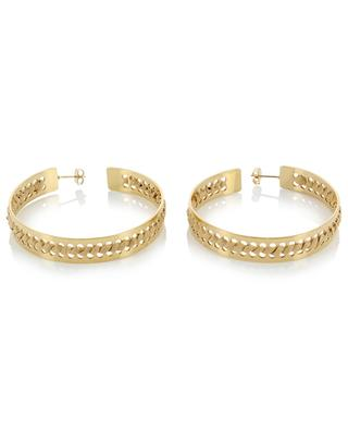 Amed gold-plated earrings CAMILLE ENRICO
