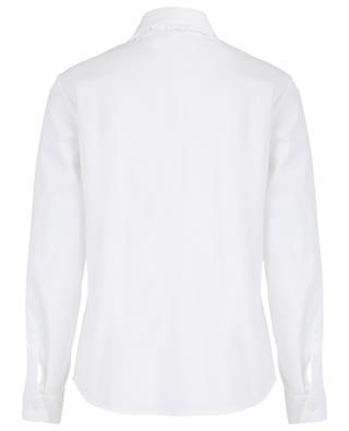 Chemise à col claudine avec lavallière RED VALENTINO