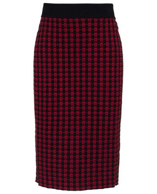 Checked pencil skirt RED VALENTINO