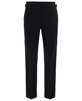 Reps Stretch straight fit trousers with buckles RED VALENTINO