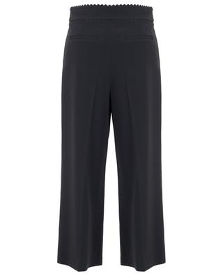 Pantalon large raccourci et festonné RED VALENTINO