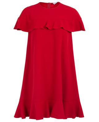 Kurzes Kleid mit Rüschen RED VALENTINO