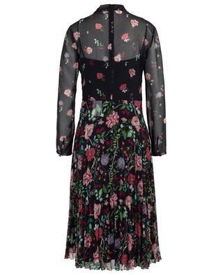 Plissiertes geblümtes Midikleid Cherry Blossom RED VALENTINO