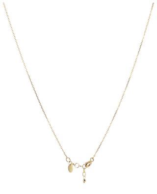 Goldene Halskette mit Türkis Loop 5 OCTOBRE