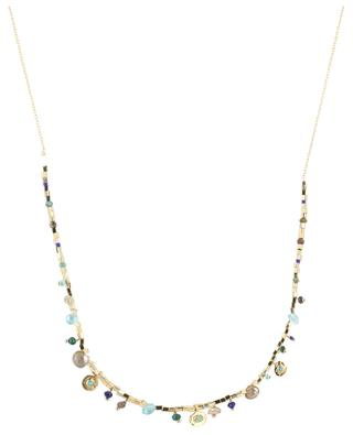 Asia gold plated silver necklace with turquoise 5 OCTOBRE