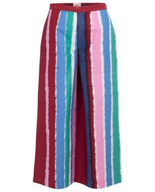 Nathalie striped cotton trousers EMPORIO SIRENUSE POSITANO