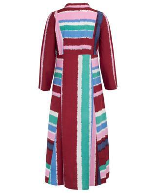 Caftan en coton imprimé Giada Stripes EMPORIO SIRENUSE POSITANO