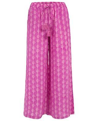 Janet printed silk trousers EMPORIO SIRENUSE POSITANO