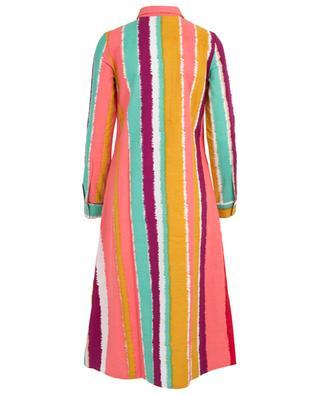 Elisa striped cotton kaftan EMPORIO SIRENUSE POSITANO