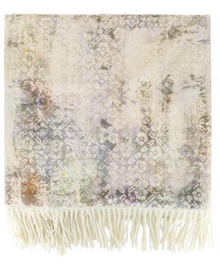 Happy Plaids Fresco wool and velvet plaid CARMA
