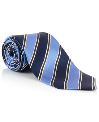 Striped silk tie ERMENEGILDO ZEGNA