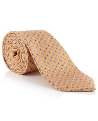 Krawatte aus Seide mit Print ERMENEGILDO ZEGNA