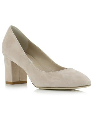 Round tip pumps with chunky heels BONGENIE GRIEDER