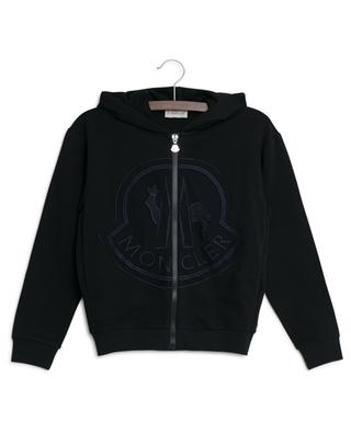 Logo embroidered sweat jacket MONCLER