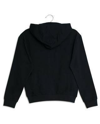 d43ea67d1378 ... Sweat-shirt zippé brodé du logo MONCLER