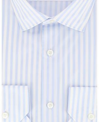 Gestreiftes Hemd aus Baumwolle ERMENEGILDO ZEGNA