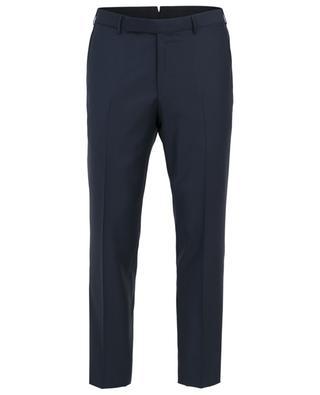 Pantalon à pinces en laine ERMENEGILDO ZEGNA