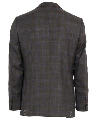 Wool, silk and linen blend blazer ERMENEGILDO ZEGNA