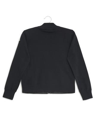 Maglia cardigan with quilted front MONCLER