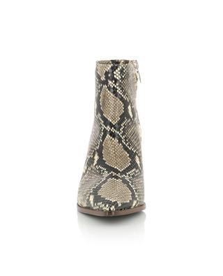 Stiefeletten aus Wildleder in Schlangenoptik BONGENIE GRIEDER