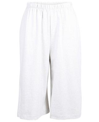 Kadobay mottled cropped cotton trousers AMERICAN VINTAGE