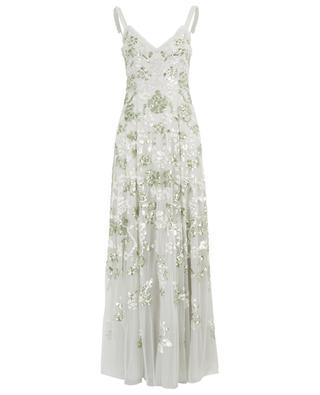 Langes paillettenbesticktes Kleid Valentina NEEDLE &THREAD