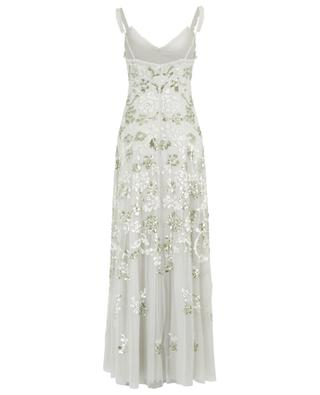 Valentina sequin embroidered gown NEEDLE &THREAD
