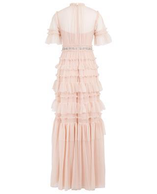 Langes Kleid mit gestickter Schleife Embellished Bow NEEDLE &THREAD