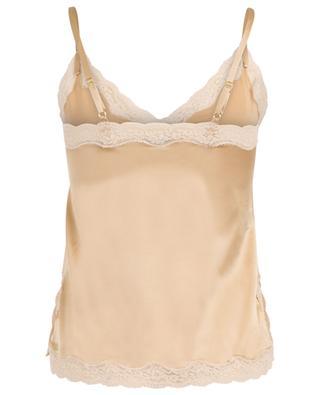 Silk and lace camisole VANNINA VESPERINI