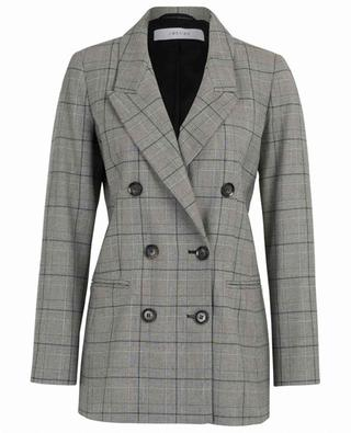 Long check blazer IBLUES
