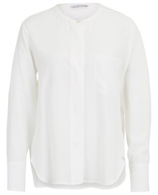 Hemd aus Seidenmix Angora IBLUES