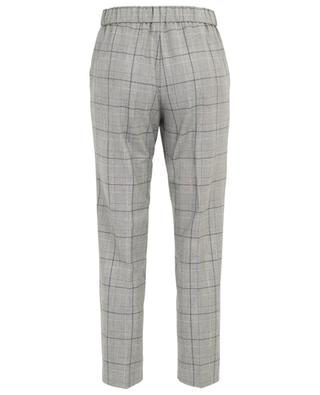 Check tapered leg trousers IBLUES