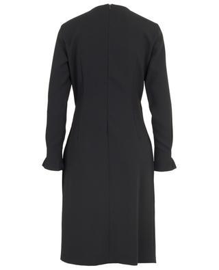 Saveria short draped wrap effect dress IBLUES