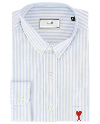Gestreiftes Hemd aus Baumwolle Ami de Coeur AMI