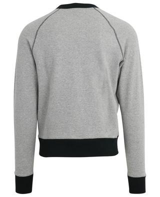 Zweifarbiges Sweatshirt mit Logoprint AMI AMI