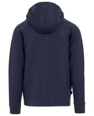 Kapuzensweatshirt aus Baumwollmischgewebe WOOLRICH