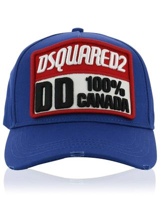 Dsquared2 100% Canada distressed baseball cap DSQUARED2