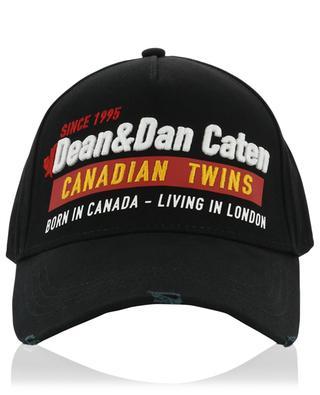 Used-Look-Baseballkappe Dean & Dan Caten DSQUARED2